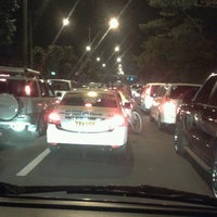 Photo taken at Ortigas & Greenmeadows Avenue Intersection by Maricel O. on 10/30/2012