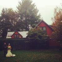 Photo taken at Buttermilk Falls Inn & Spa by Bryce R. on 10/20/2013