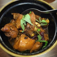 Photo taken at Hyang-to-gol Korean Restaurant by Jackson S. on 4/3/2015