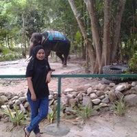 Photo taken at Langkawi Elephant Adventures by Shima j. on 8/28/2014