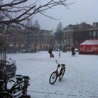 Photo taken at Marie Heinekenplein by Thijs v. on 1/20/2013