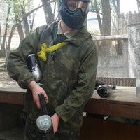 Снимок сделан в Фалькон Пейнтбол пользователем Oleksii V. 4/26/2014