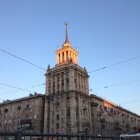 Photo taken at Шпиль на Парке Победы by Petr on 5/11/2016