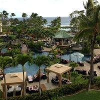 Photo taken at Grand Hyatt Kauai Resort & Spa by Richard J. on 1/5/2013