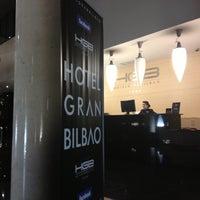 Foto tomada en Hotel Gran Bilbao por Umut el 10/28/2012