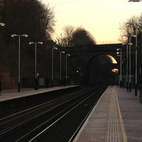 Photo taken at Winchester Railway Station (WIN) by Claire F. on 2/18/2013