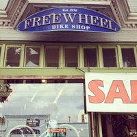 Photo taken at Freewheel Bike Shop by lotte D. on 9/21/2013