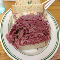 Photo taken at Famous 4th Street Delicatessen by Thomas V. on 12/2/2012