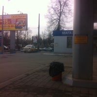 Photo taken at Линос АЗС №10 by Ксеня ☕. on 4/3/2015