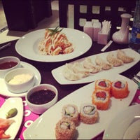 Photo taken at Fushi Sushi by Abdulkader A. on 10/30/2012