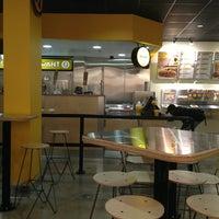 Photo taken at Which Wich Superior Sandwiches by Derek on 7/24/2013