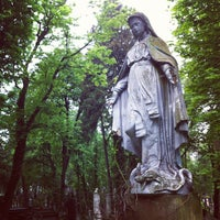 Photo taken at Lychakiv Cemetery by Lina L. on 5/28/2013