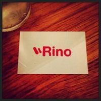 Photo taken at Rino by Oscar M. on 1/14/2014