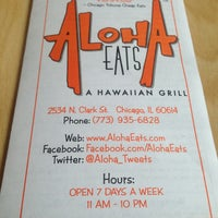 Photo taken at Aloha Eats by Liz L. on 4/6/2013