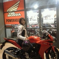 Photo taken at Huntington Beach Honda Motorcycles by Huntington H. on 3/30/2013