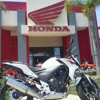 Photo taken at Huntington Beach Honda Motorcycles by Huntington H. on 5/4/2013