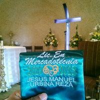 Photo taken at Parroquia Divino Maestro Y Nuestra Señora De Guadalupe by Woody on 4/24/2014
