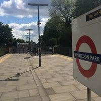 Photo taken at Wimbledon Park London Underground Station by Arturo G. on 4/25/2017