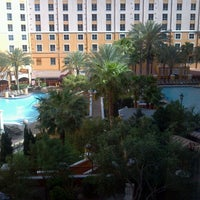 Photo taken at Wyndham Grand Desert Hot Tub by Paul H. on 4/15/2013