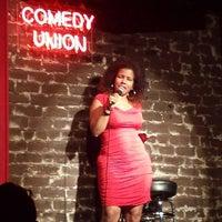 Photo taken at Comedy Union by Jenny S. on 9/14/2014