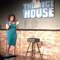 Photo taken at Icehouse Comedy Club Pasadena by Jenny S. on 9/8/2014