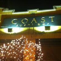 Photo taken at Coast Sushi Bar by Mark B. on 12/23/2012
