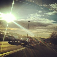 Photo taken at I-270 Exit 4A/B (Montrose Road) by Keith E. on 2/12/2013