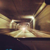 Photo taken at Fort McHenry Tunnel by Keith E. on 4/4/2013