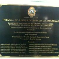 Photo taken at Tribunal de Justiça do Estado do Amazonas - TJAM by Nicco B. on 10/30/2012