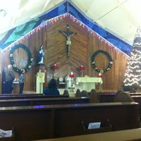 Photo taken at Parroquia Santa Beatriz de Silva by Vidal on 12/26/2012