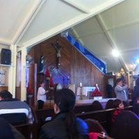 Photo taken at Parroquia Santa Beatriz de Silva by Vidal on 1/13/2013