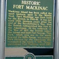 Photo taken at Fort Mackinac by Jeff C. on 9/30/2012