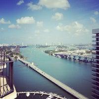 Photo taken at Miami Marriott Biscayne Bay by Brad W. on 4/25/2013