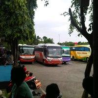 Photo taken at Terminal Lebak Bulus by Muhammad W. on 1/5/2013