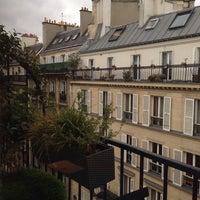 Photo taken at Hôtel Élysées Mermoz (L') by Costas 🚣 T. on 2/8/2014
