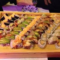 Photo taken at Nizi Sushi by Liliana on 12/8/2012