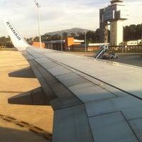 Photo taken at Aeropuerto de Santander - Seve Ballesteros by Jorge d. on 10/4/2012