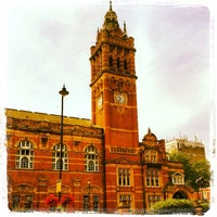 Photo taken at Newham Town Hall by Joao Carlos V. on 7/22/2013