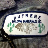 Photo taken at Dufrene Building Materials by Justin on 1/23/2013