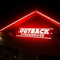 Photo taken at Outback Steakhouse by Sarah B. on 1/11/2013