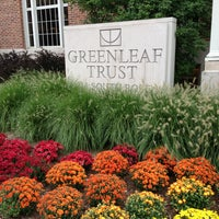 Photo taken at Greenleaf Trust by Patti O. on 9/13/2013