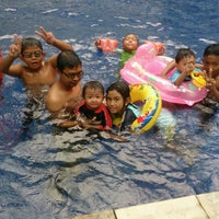 Photo taken at Swimming Pool @ Armanee Condo by Naaa Z. on 6/2/2014