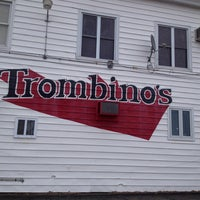 Photo taken at Trombinos by Chrissy on 3/13/2013