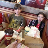 Photo taken at Tim Hortons by Chrissy on 10/20/2013