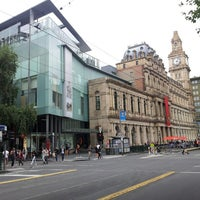 Photo taken at Melbourne's GPO by Charmian N. on 1/4/2014