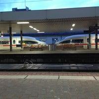 Photo taken at Basel Baden Railway Station by Kerem T. on 7/29/2013