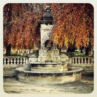 Photo taken at Esplanade de Montbenon by Ball on 11/17/2012