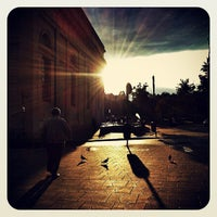 Photo taken at Deák Ferenc tér by Ball on 6/1/2013