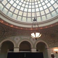 Photo taken at Tiffany Dome At The Chicago Cultural Center by Cortney M. on 7/7/2014