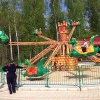 Photo taken at ПКиО им. Гайдара by Anton L. on 5/10/2014